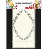 Dutch DooBaDoo A4 Plantilla: Tipo de tarjeta, para las tarjetas