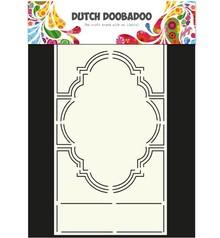 Dutch DooBaDoo A4 Skabelon: korttype, for kort