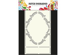Dutch DooBaDoo A4 Template: Card type, for cards