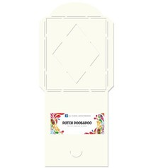 Dutch DooBaDoo A4 Template: Card type, envelope
