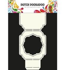 Dutch DooBaDoo A4 Skabelon: korttype, dækning eller kort
