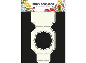 Dutch DooBaDoo A4 Template: Card type, cover or card