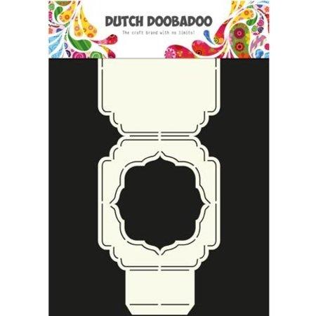 Dutch DooBaDoo A4 Plantilla: Tipo de tarjeta, la cubierta o en la tarjeta