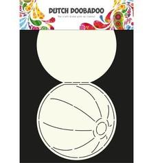 Dutch DooBaDoo A4 Schablone: Card Art, für Karten in Form eines Balles