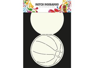 Dutch DooBaDoo A4 Template: Card type, for cards in the form of a ball
