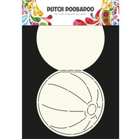 Dutch DooBaDoo Plantilla A4: Tipo de tarjeta, para las tarjetas en forma de una bola