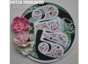 Dutch DooBaDoo A4 Skabelon: korttype, for kort i form af en kugle