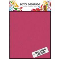 2 x A5 Lederlook, Pink