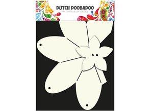 Dutch DooBaDoo Plantilla A4: Tipo de tarjeta, caja de regalo de la fresa