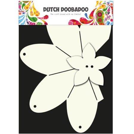 Dutch DooBaDoo A4 Schablone: Card Art, Geschenkschachtel Erdbeere