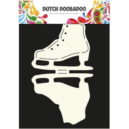 Dutch DooBaDoo Plantilla A4: Tipo de tarjeta, para las tarjetas en forma de hielo