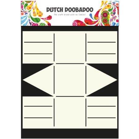Dutch DooBaDoo A4 Schablone: Card Art, Geschenkschachtel