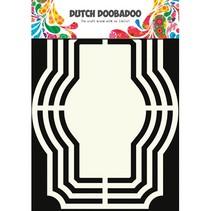 Plantilla: Forma holandés Arte, etiquetas
