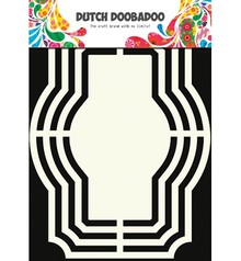 Dutch DooBaDoo Skabelon: Hollandsk Shape Kunst, Labels