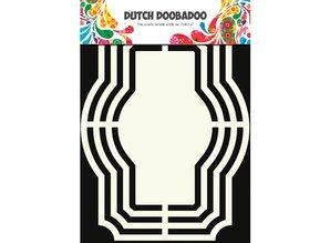 Dutch DooBaDoo Plantilla: Forma holandés Arte, etiquetas