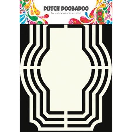 Dutch DooBaDoo Skabelon: Hollandsk Shape Kunst, Labels