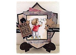 Dutch DooBaDoo Schablone: Card Art, Kartenständer