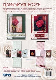 BASTELSETS / CRAFT KITS: Fancy Bordered Print Fancy roses