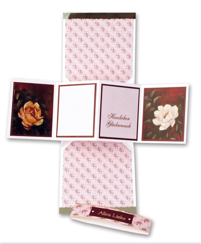 Kit artigianale / Craft Collection / kit artigianale: Staf Wesenbeek, Willem Haenraets en molti altri. Fancy Delimitata stampa Fancy rose