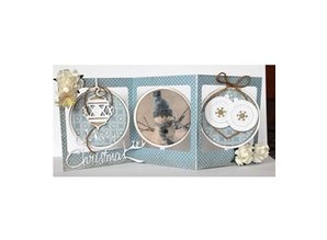 Joy!Crafts und JM Creation Punching and embossing templates: card template around