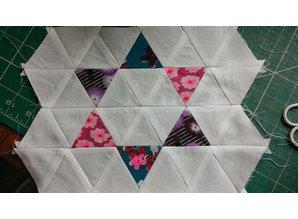 Sizzix Stempling og prægning stencil trekanter