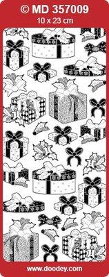 Sticker Ziersticker mit Geschenke