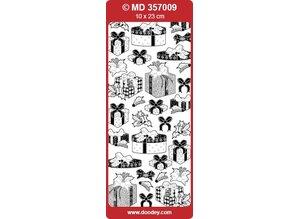 Sticker Ziersticker with gifts