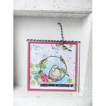 sello transparente: Birdy