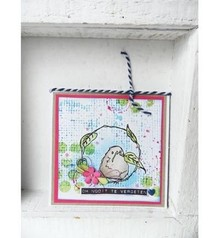 Marianne Design Transparent stamp: Birdy
