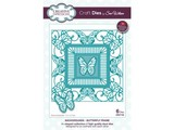 Creative Expressions Punching and embossing template: butterfly decorative frame