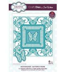 Creative Expressions Punzonatura e goffratura modello: farfalla cornice decorativa