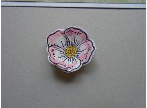Creative Expressions Gummi Stempel, Christmas Rose