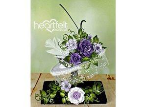 """Heartfelt Creations aus USA Hjertelig CREATIONS """"Classic vin Roses"""""""