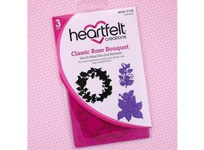 "Heartfelt Creations aus USA Hjertelig CREATIONS ""Classic Rose Bouquet"""