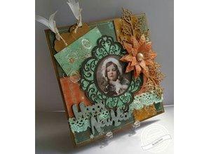 Marianne Design Stanz- und Prägeschablone: 6 dekorative Labels +1 XL Label