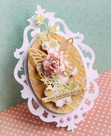 Sizzix Stampaggio e la cartella goffratura SET: 4 ovale cornice decorativa