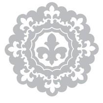 Stampaggio e la cartella goffratura SET: 3 Turno cornice decorativa