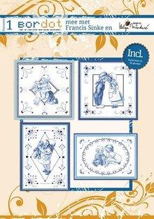 Bücher und CD / Magazines Hobby book 8 Embroidery Patterns: Delfsblue