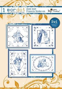 Bücher und CD / Magazines Hobby Patterns libro 8 ricamo: Delfsblue