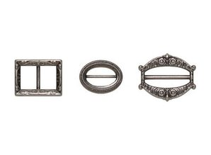 Embellishments / Verzierungen Metal Set, Antique Silver