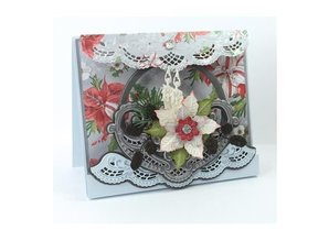 Marianne Design Punching and embossing template: Petra's Flower bowl