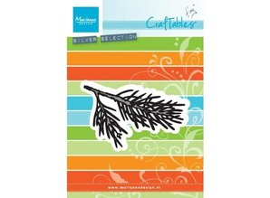 Marianne Design Punching and embossing template: Tiny's Pine tree branch