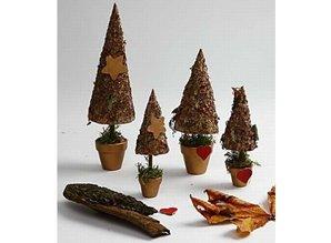 Cone, H: 14 cm, D: 7 cm, 12 stk