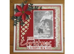 Joy!Crafts und JM Creation Stamping and Embossing stencil, Borders
