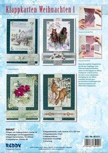 BASTELSETS / CRAFT KITS: Fancy Bordered Print Fancy Christmas I