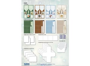 BASTELSETS / CRAFT KITS: Fancy Bordered Print Fancy Christmas II