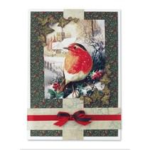 Limita con la suposición de impresión de lujo de Navidad II