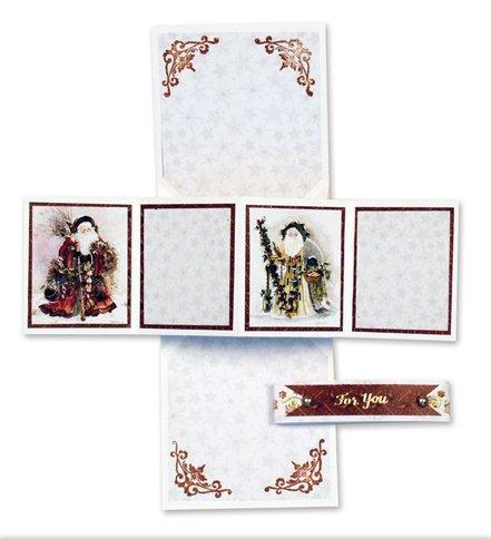 bastelsets craft kits klappkartenset weihnachten ii. Black Bedroom Furniture Sets. Home Design Ideas