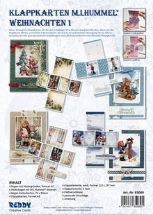 BASTELSETS / CRAFT KITS: Fancy Grænser Print Fancy HUMMEL jul I