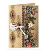 DESIGNER BLÖCKE  / DESIGNER PAPER Kartenkarton Weihnachten, Girlanden